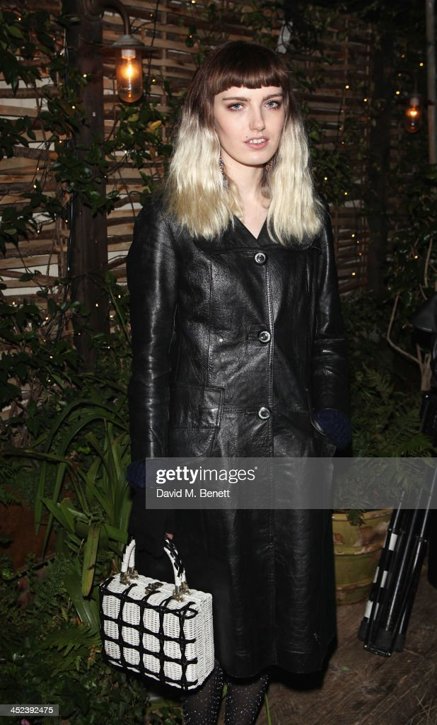 Claire Barrow attends the Peter Saville for Lacoste launch at Shoreditch House on November 28, 2013 in London, England.