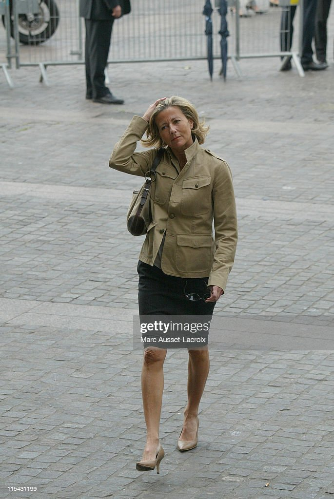 <a gi-track='captionPersonalityLinkClicked' href=/galleries/search?phrase=Claire+Chazal&family=editorial&specificpeople=240566 ng-click='$event.stopPropagation()'>Claire Chazal</a> arrives to the funeral service of French actor <a gi-track='captionPersonalityLinkClicked' href=/galleries/search?phrase=Jean-Pierre+Cassel&family=editorial&specificpeople=630243 ng-click='$event.stopPropagation()'>Jean-Pierre Cassel</a> at Saint-Eustache church in Paris, France
