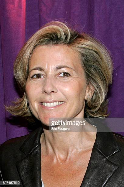 Claire Chazal attends the French launch of TNT