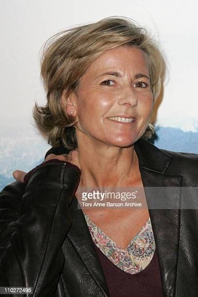 Claire Chazal during 'Harry Potter and the Goblet of Fire' Paris Premiere at UGC Cine Cite Bercy in Paris France
