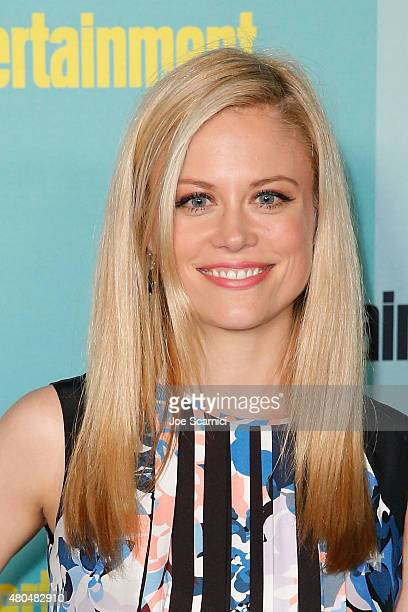 Claire Coffee attends ComicCon International 2015 Entertainment Weekly ComicCon Celebration at Float at Hard Rock Hotel San Diego on July 11 2015 in...