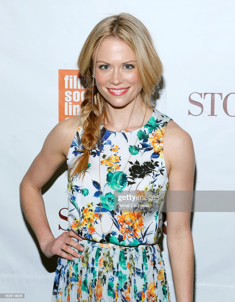 Claire Coffee attends the 'Stoker' New York Screening at The Film Society of Lincoln Center, Walter Reade Theatre on February 27, 2013 in New York City.