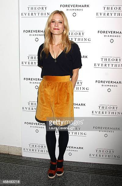 Claire Coffee attends 'Theory Of Everything ' New York Screening at Lighthouse International Theater on November 5 2014 in New York City