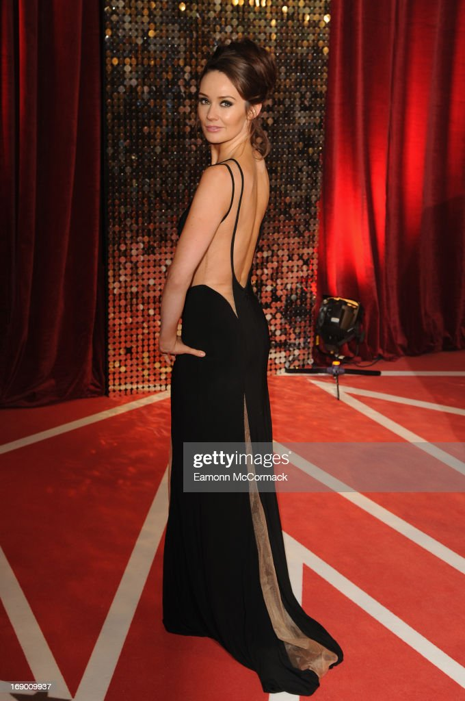 Claire Cooper attends the British Soap Awards at Media City on May 18, 2013 in Manchester, England.