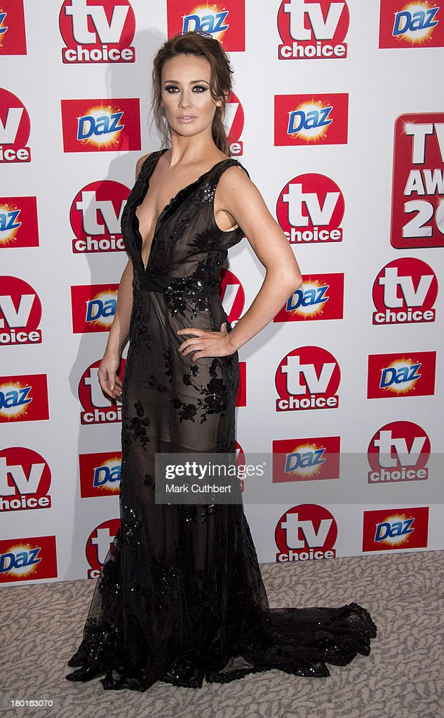 Claire Cooper attends the TV Choice Awards 2013 at The Dorchester on September 9, 2013 in London, England.