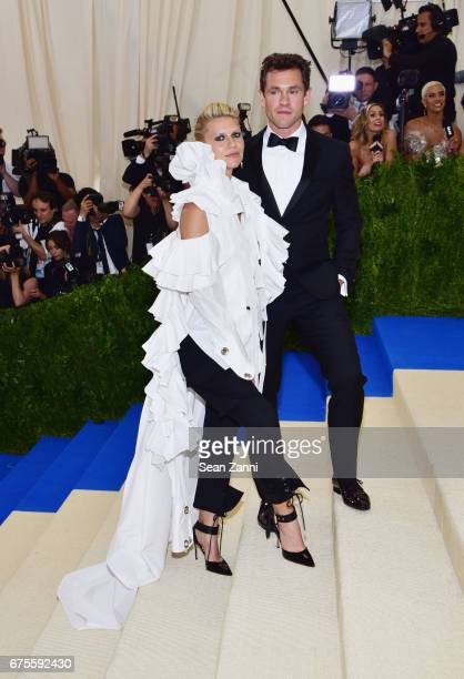 Claire Danes and Hugh Dancy arrive at 'Rei Kawakubo/Comme des Garcons Art Of The InBetween' Costume Institute Gala at The Metropolitan Museum on May...