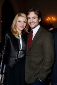 Claire Danes and Hugh Dancy at Showtime's dinner celebration of The 2013 Golden Globe Nominees held at The Chateau Marmont on January 12 2013 in Los...