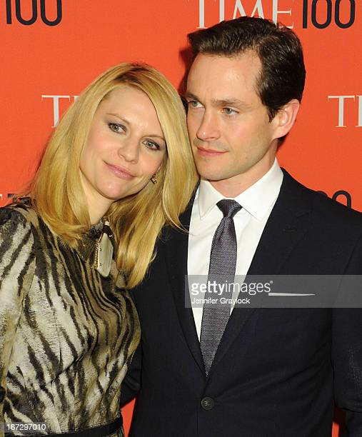 Claire Danes and Hugh Dancy attend the 2013 Time 100 Gala at Frederick P Rose Hall Jazz at Lincoln Center on April 23 2013 in New York City