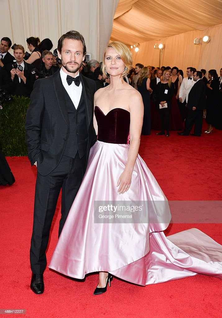 Claire Danes and Hugh Dancy attend the 'Charles James: Beyond Fashion' Costume Institute Gala at the Metropolitan Museum of Art on May 5, 2014 in New York City.