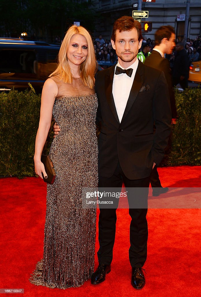 Claire Danes and Hugh Dancy attend the Costume Institute Gala for the 'PUNK: Chaos to Couture' exhibition at the Metropolitan Museum of Art on May 6, 2013 in New York City.