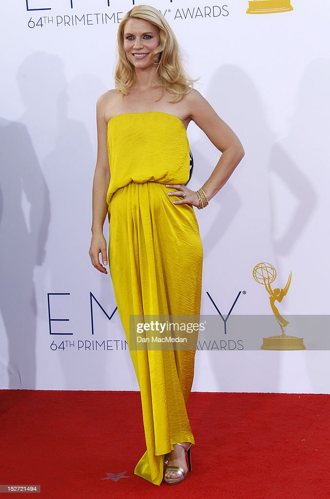 <a gi-track='captionPersonalityLinkClicked' href=/galleries/search?phrase=Claire+Danes&family=editorial&specificpeople=202666 ng-click='$event.stopPropagation()'>Claire Danes</a> arrives at the 64th Primetime Emmy Awards held at Nokia Theatre L.A. Live on September 23, 2012 in Los Angeles, California.