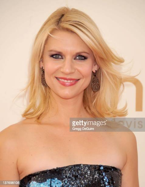 Claire Danes arrives at the Academy of Television Arts Sciences 63rd Primetime Emmy Awards at Nokia Theatre LA Live on September 18 2011 in Los...