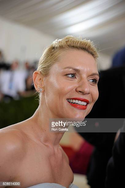 Claire Danes at Metropolitan Museum of Art on May 2 2016 in New York City