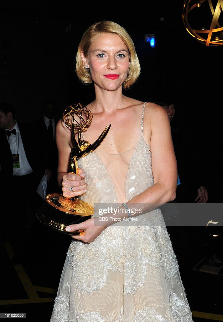 Claire Danes at the 65th Primetime Emmy Awards which will be broadcast live across the country 8:00-11:00 PM ET/ 5:00-8:00 PM PT from NOKIA Theater L.A. LIVE in Los Angeles, Calif., on Sunday, Sept. 22 on the CBS Television Network.