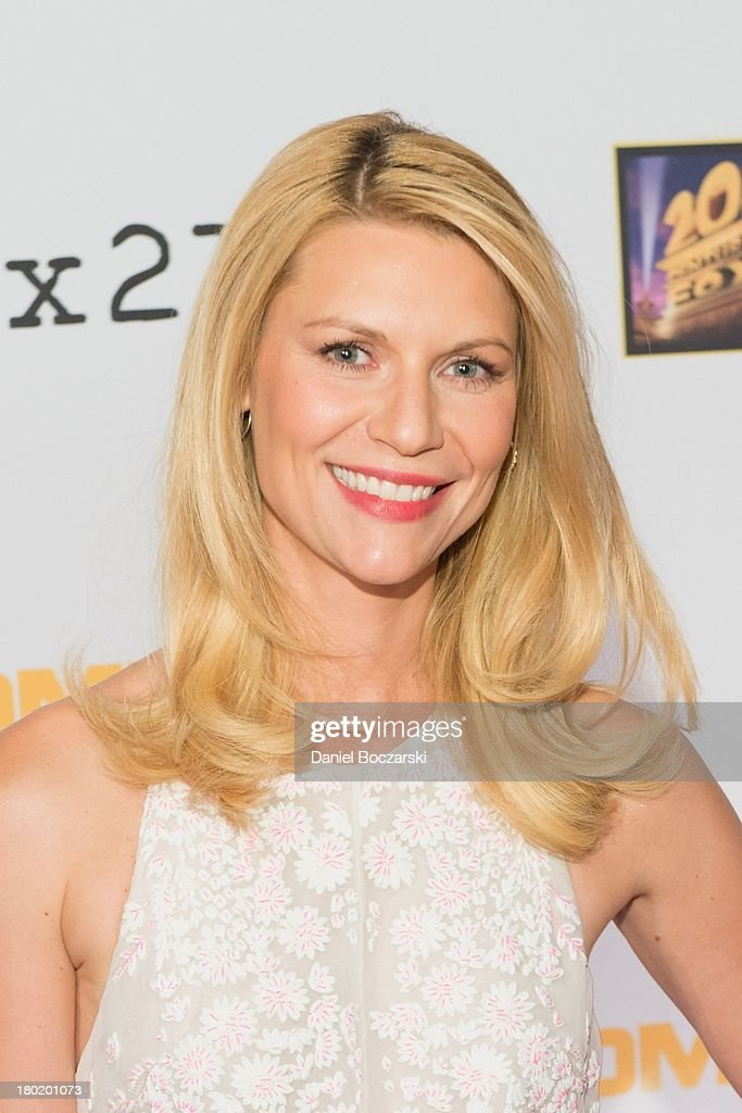 Claire Danes attends a premiere screening hosted by SHOWTIME and Fox 21 for Season 3 of the hit series 'Homeland' at Corcoran Gallery of Art on September 9, 2013 in Washington City.