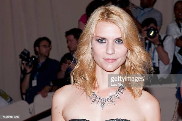 Claire Danes attends 'American Woman Fashioning A National Identity' Costume Institute Gala at The Metropolitan Museum of Art in New York City