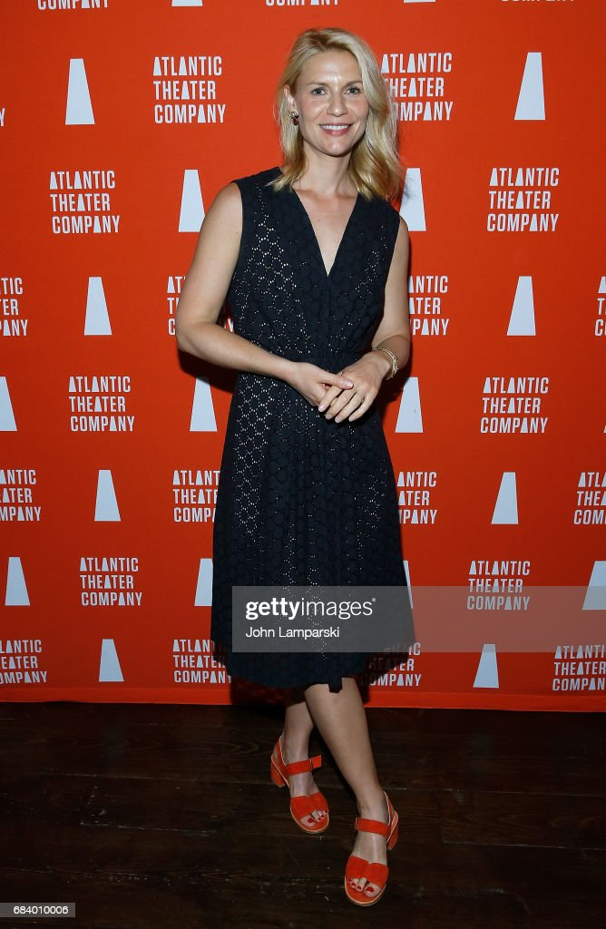 Claire Danes attends 'Darren Brown: Secret' opening night celebration at Atlantic Theater Company on May 16, 2017 in New York City.