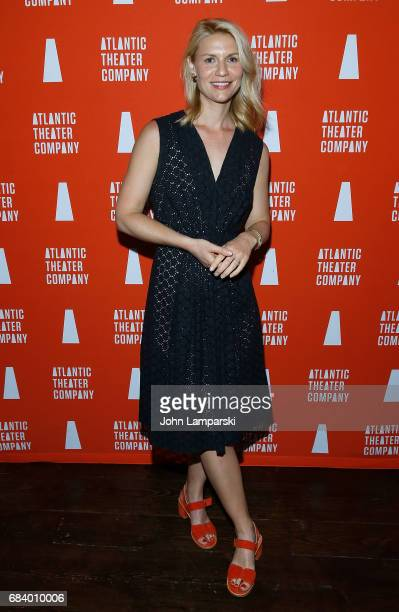 Claire Danes attends 'Darren Brown Secret' opening night celebration at Atlantic Theater Company on May 16 2017 in New York City