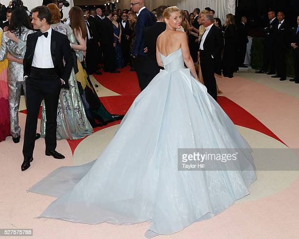 Claire Danes attends 'Manus x Machina Fashion in an Age of Technology' the 2016 Costume Institute Gala at the Metropolitan Museum of Art on May 02...
