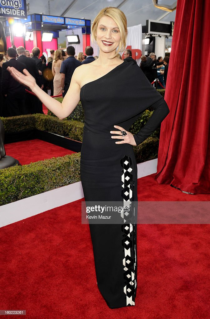 Claire Danes attends the 19th Annual Screen Actors Guild Awards at The Shrine Auditorium on January 27, 2013 in Los Angeles, California. (Photo by Kevin Mazur/WireImage) 23116_016_0792.jpg