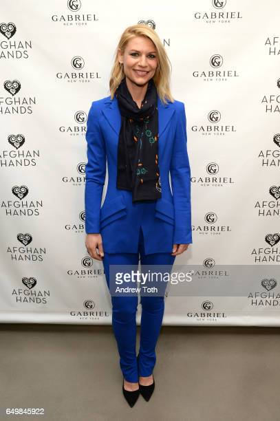 Claire Danes attends the 2017 Afghan Hands fundraiser at Gabriel Co Showroom on March 8 2017 in New York City