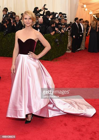 Claire Danes attends the 'Charles James Beyond Fashion' Costume Institute Gala at the Metropolitan Museum of Art on May 5 2014 in New York City