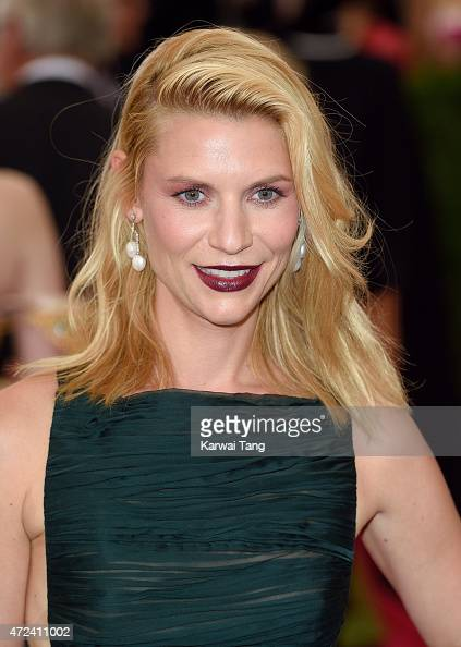Claire Danes attends the 'China Through The Looking Glass' Costume Institute Benefit Gala at Metropolitan Museum of Art on May 4 2015 in New York City