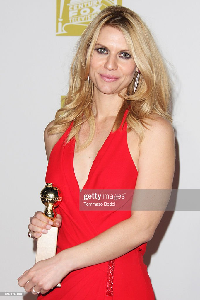 Claire Danes attends the FOX Golden Globe after party held at the FOX Pavilion at the Golden Globes on January 13, 2013 in Beverly Hills, California.