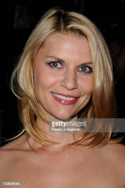Claire Danes attends the Giorgio Armani Prive show as part of the Paris Haute Couture Fashion Week Fall/Winter 2011 Espace Vendome on July 6 2010 in...