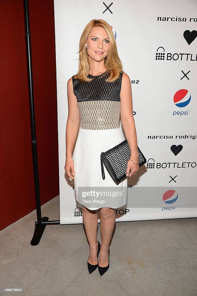 <a gi-track='captionPersonalityLinkClicked' href=/galleries/search?phrase=Claire+Danes&family=editorial&specificpeople=202666 ng-click='$event.stopPropagation()'>Claire Danes</a> attends the Narciso Rodriguez Bottletop Collection Pepsi U.S. Launch at Sikkema Jenkins And Co. Gallery on May 8, 2014 in New York City.