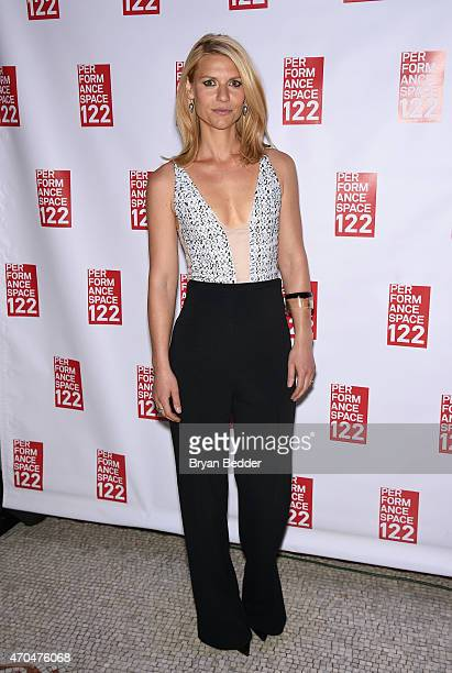 Claire Danes attends the Performance Space 122 2015 Spring Gala Honoring Claire Danes at Capitale on April 20 2015 in New York City