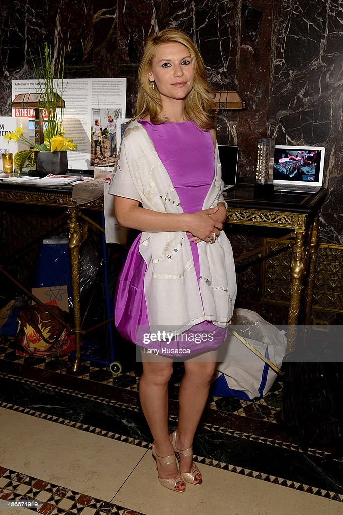 Claire Danes attends Variety Power Of Women New York presented by FYI at Cipriani 42nd Street on April 25 2014 in New York City