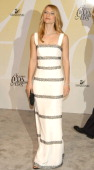 Claire Danes during 2005 CFDA Fashion Awards Outside Arrivals at New York Public Library in New York City New York United States