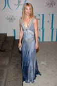 Claire Danes during 2007 CFDA Fashion Awards Red Carpet at New York Public Library in New York City New York United States