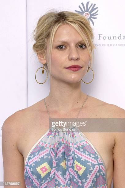 Claire Danes during Raisa Gorbachev Foundation – Arrivals at Althorp in Althorp Northamptonshire Great Britain