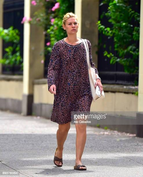 Claire Danes is seen in the West Village on June 8 2017 in New York City