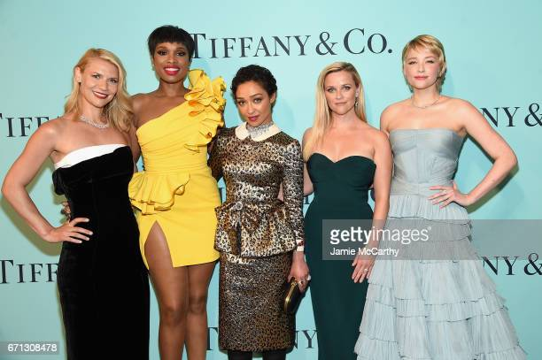 Claire Danes Jennifer Hudson Ruth Negga Reese Witherspoon and Haley Bennett attend the Tiffany Co 2017 Blue Book Collection Gala at ST Ann's...
