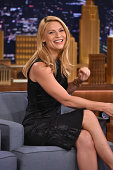 Claire Danes Visits 'The Tonight Show Starring Jimmy Fallon' at Rockefeller Center on September 5 2014 in New York City