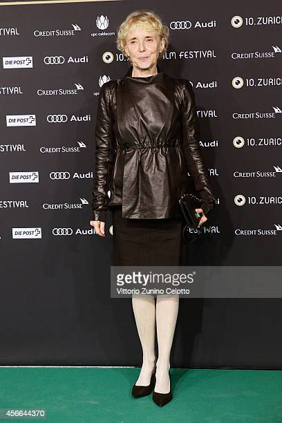 Claire Denis attends the Award Night Green Carpet Arrivals during Day 10 of Zurich Film Festival 2014 on October 4 2014 in Zurich Switzerland
