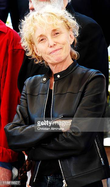 Claire Denis during 2004 Cannes Film Festival 'Europe' Photocall at Palais Du Festival in Cannes France