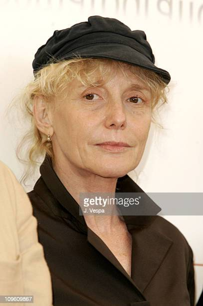 Claire Denis during 2005 Venice Film Festival In Competition Films Jury Photocall at Casino Palace in Venice Lido Italy
