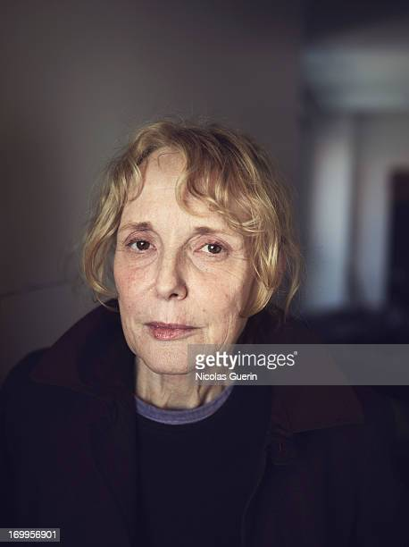 Claire Denis is photographed for Self Assignment on May 20 2013 in Cannes France