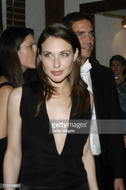 Claire Forlani and James Caviezel during 'Bobby Jones Stroke of Genius' New York Premiere After Party at Tavern on the Green in New York City New...