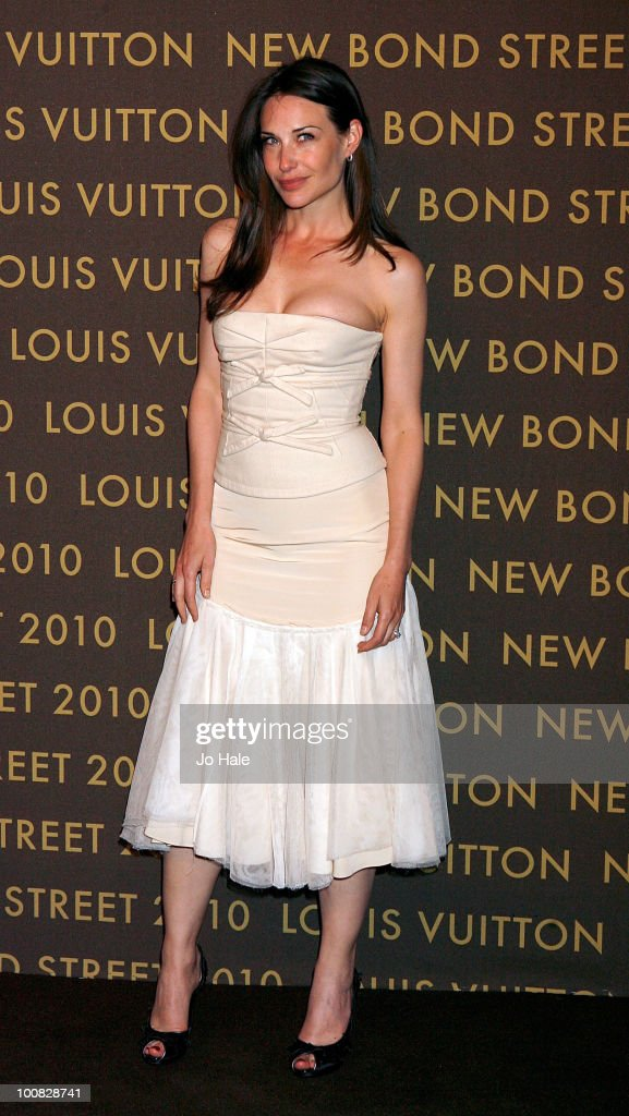 Claire Forlani attends the after party for the launch of the Louis Vuitton Bond Street Maison on May 25, 2010 in London, England.