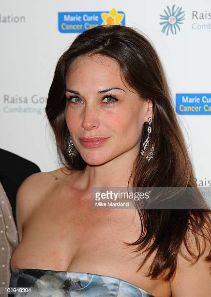 Claire Forlani attends the annual Raisa Gorbachev Foundation Party at Stud House Hampton Court on June 5 2010 in London England