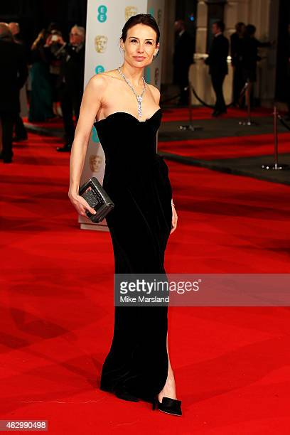 Claire Forlani attends the EE British Academy Film Awards at The Royal Opera House on February 8 2015 in London England