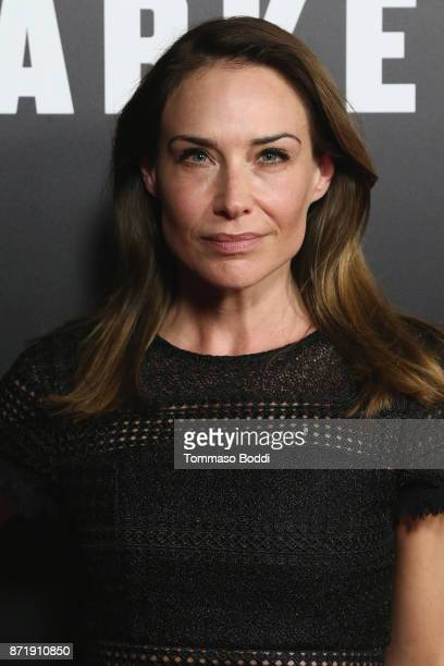 Claire Forlani attends the Premiere Of Focus Features' 'Darkest Hour' at Samuel Goldwyn Theater on November 8 2017 in Beverly Hills California