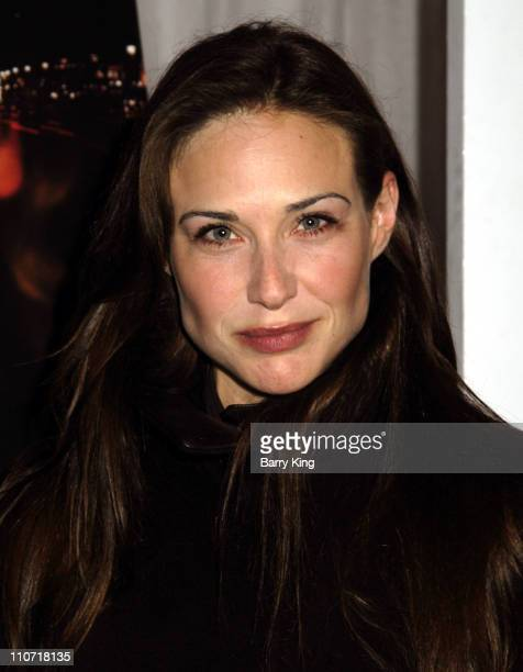 Claire Forlani during AFI Fest 2005 'Ripley Under Ground' Screening at Arclight Cinemas in Hollywood California United States