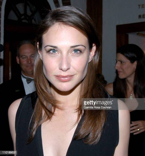 Claire Forlani during 'Bobby Jones Stroke of Genius' After Party Premiere at Tavern On The Green in New York City New York United States