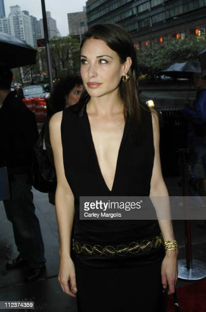 Claire Forlani during 'Bobby Jones Stroke of Genius' New York Premiere Arrivals at Tavern on the Green in New York City New York United States
